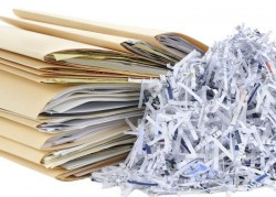 Distruzione documenti fino...
